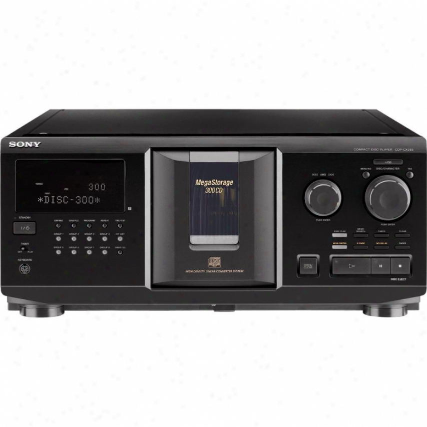 Sony Cdp-cx355 300 Disc Megaztorage Cd Changer