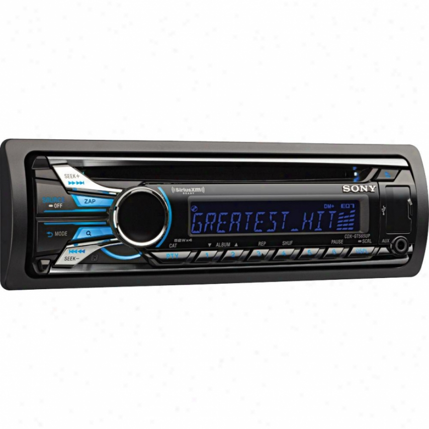 Sony Cdx-gt565up Cd Car Receiver With Front Usb