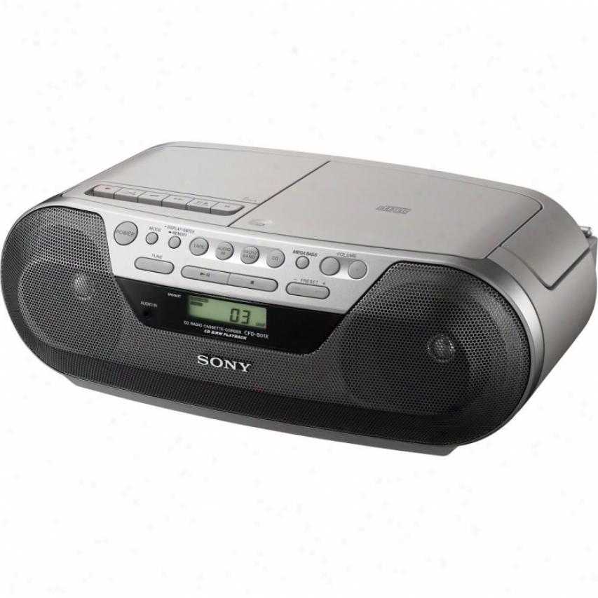 Sony Cfd-s05 Digital Cd Radio Cassette Player