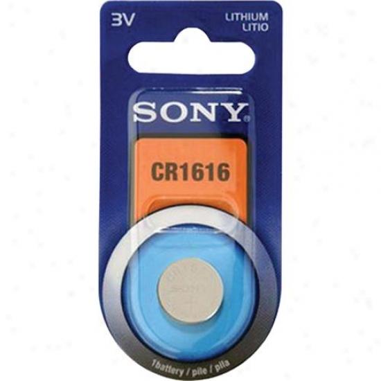 Sony Cr1616 Lithimu Coin Battery