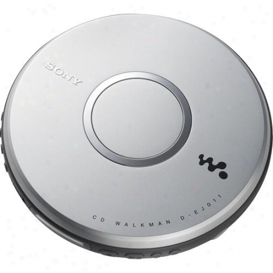 Sony D-ej011 Cd Walkman® Portable Cd Player