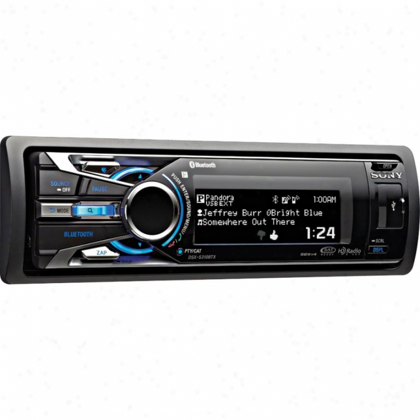 Sony Dsx-s310btx Car Digital Mexia Receiver With Bluetooth Technology