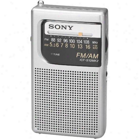 Sony Icfs10mk2 Endure Am/fm Radio