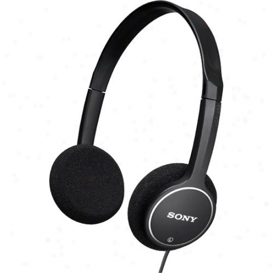 Sony Mdr-222kd/blk Children's Headphones - Black