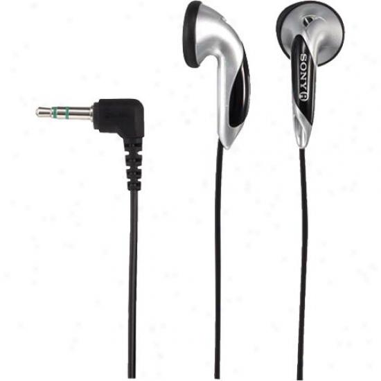 Sony Mdr-e828lp Fontopia® Ear-bud Headphones - Silver