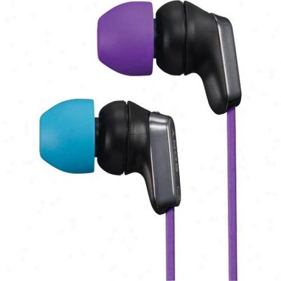 Sony Mdr-ex35lp/vb Ex Earbuds - Violet/blue