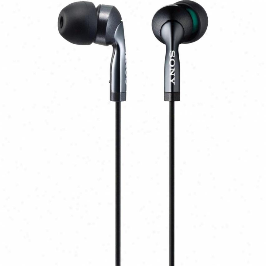 Sony Mdr-ex57lp Premium Ex Style Earbuds Headphones - Black
