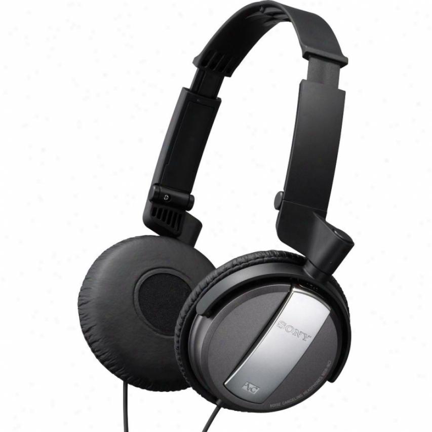 Sony Md5-nc7/blk Noise Canceling On-ear Headphones - Black