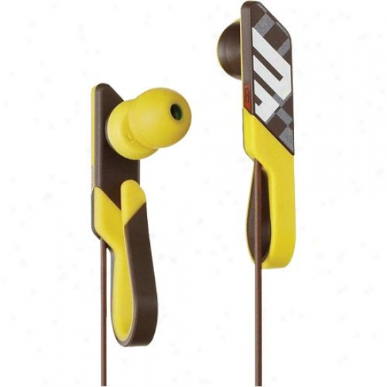 Sony Mdr-pq4 Qlasp In Ear Headphones - Brown
