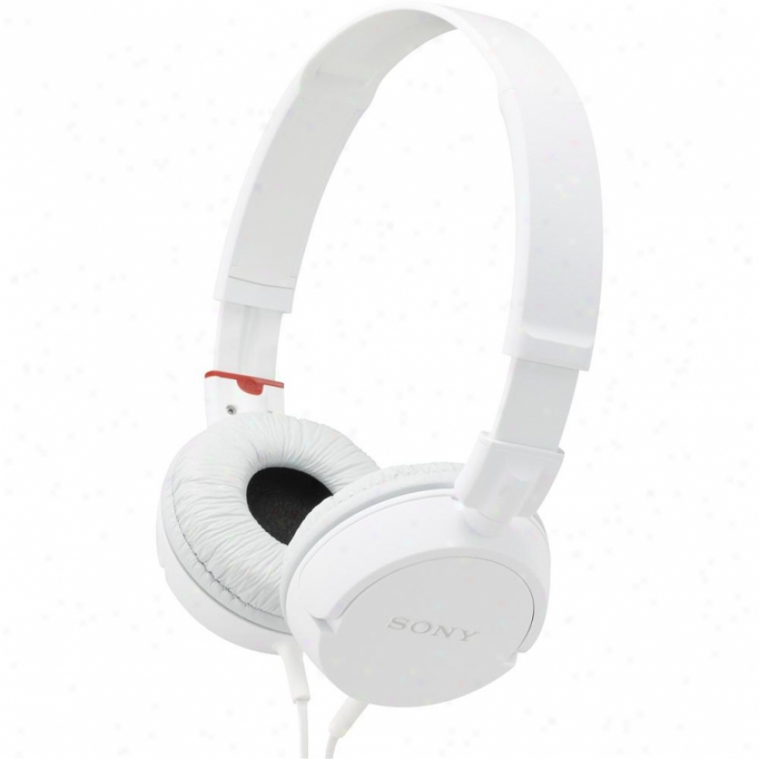 Soby Mdr-zxl00 On Ear Studio Headphones - White