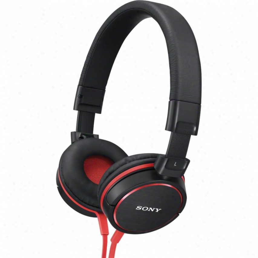 Sony Mdr-zx600 On-ear Studio Headphones - Black