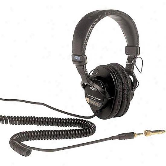 Sony Mdr7506 Studio Monitor Stereo Head;hones