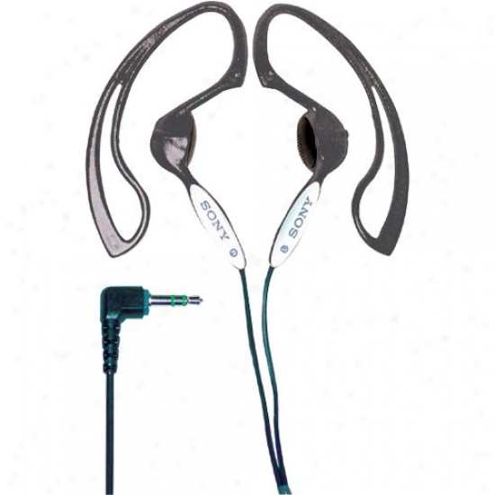 Sony Mdrj10/bk H.ear Stereo Ear Clip Headphones ( Black)