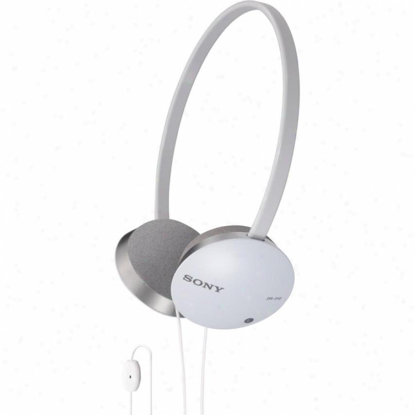 Sony Pc Audio Headset - White