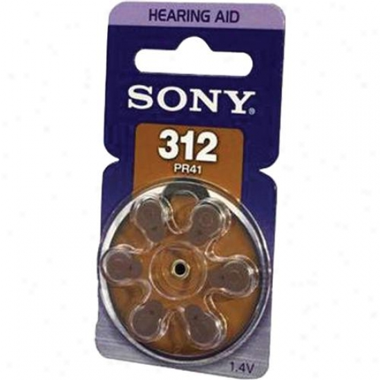 Sony Pr312 Zinx Air Battery Dial Multipack - 6-pack -