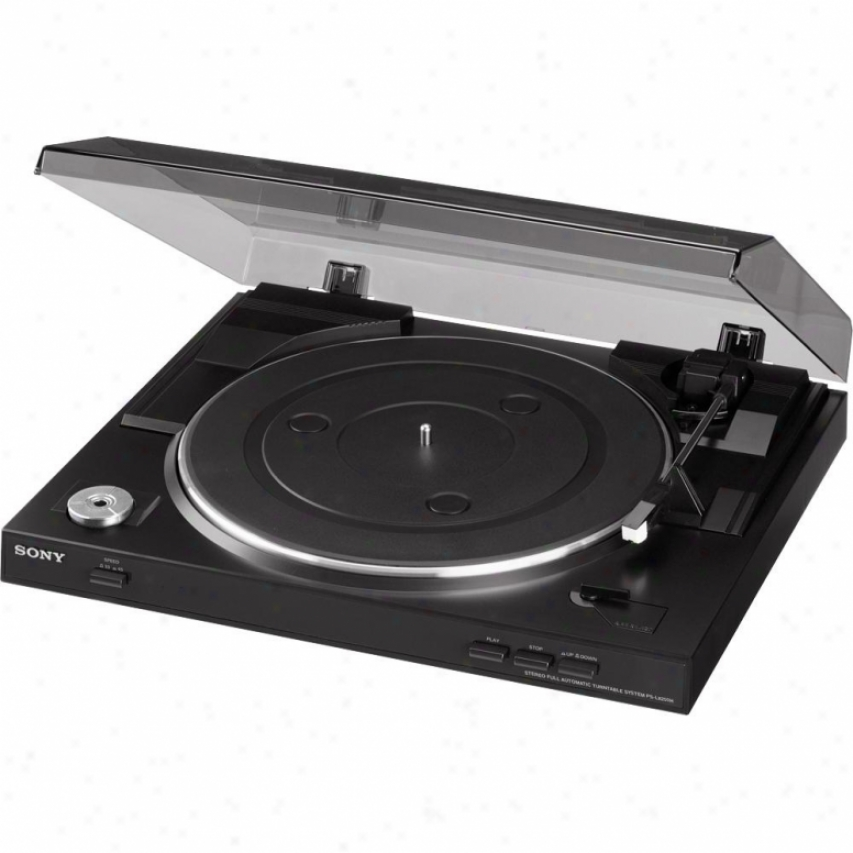 Sony Ps-lx250h - Completely Automatic Turntable