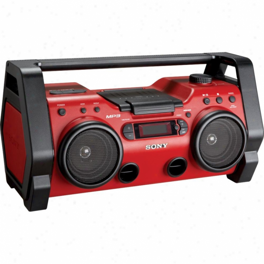 Sony S2 Sports Mp3 Cd/radio Boombox