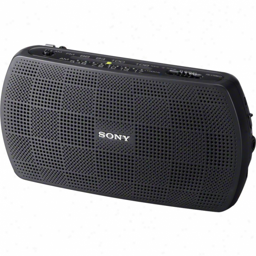 Sony Srf-18 Am/ffm Portable Stereo Radio