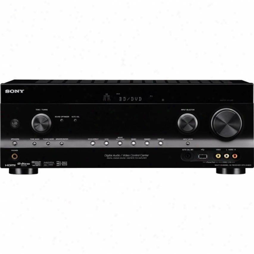 Sony Str-dh820 7.1 Channel 3d Av Home Theater Receeiver
