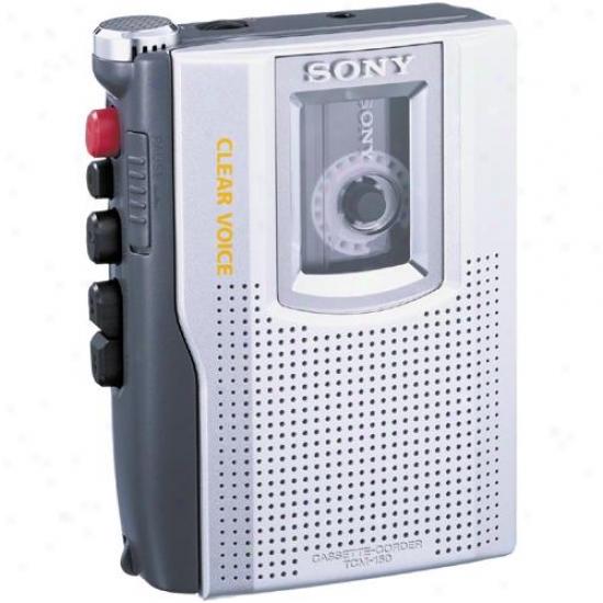 Sony Tcm-150 Cassette Voice Recorder