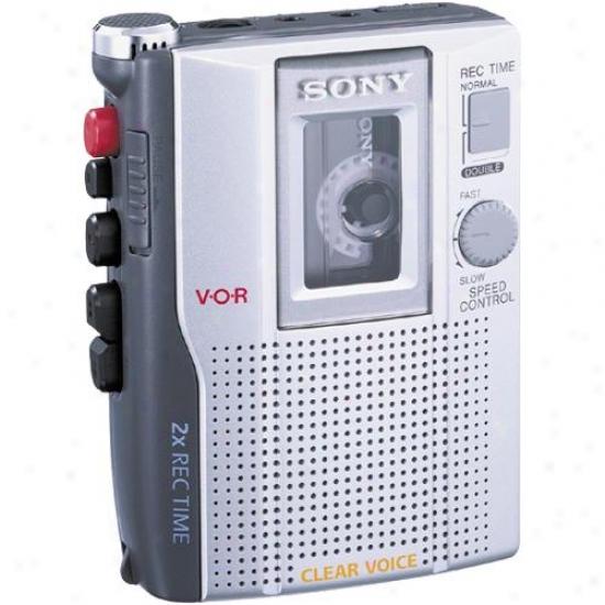 Sony Tcm-200dv Standard Cassette Voice Recorder