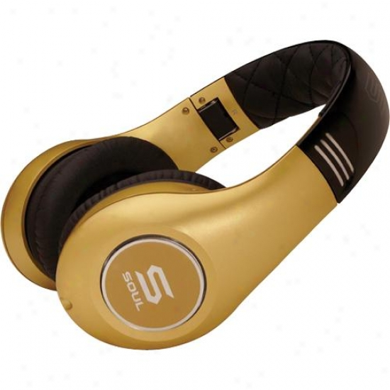 Soul By Ludacris Sl300gg Elite Hi-definition Noise Cancellng Headphones - Gold