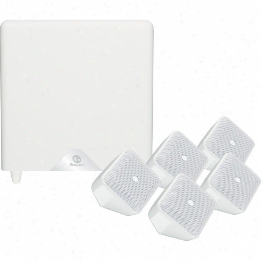 Soundware Xs-5.1 Home-theater Speaker System - White