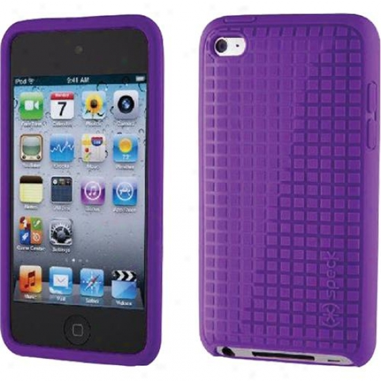 Speck Products Touch 4 Pixelskin Hd Purple