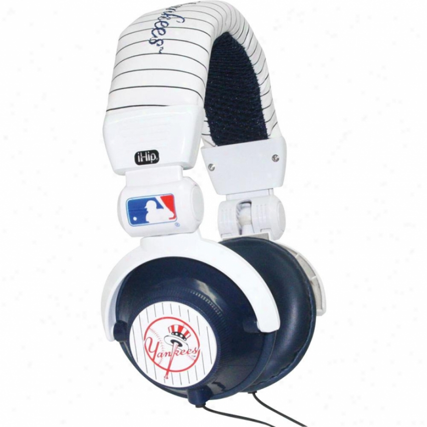 Sports Images Dj Headphones - New York Yankees - Hpbbnyydj