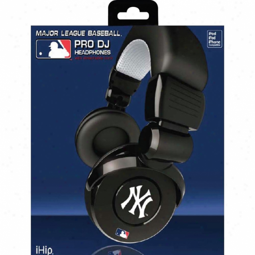 Sports Images New York Yankees Dj Headphones