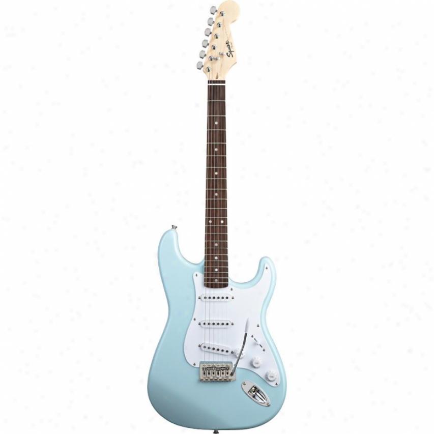 Squier Bullet Strat W/ Tremolo Guitar - Daphne Azure - 031-0001-504