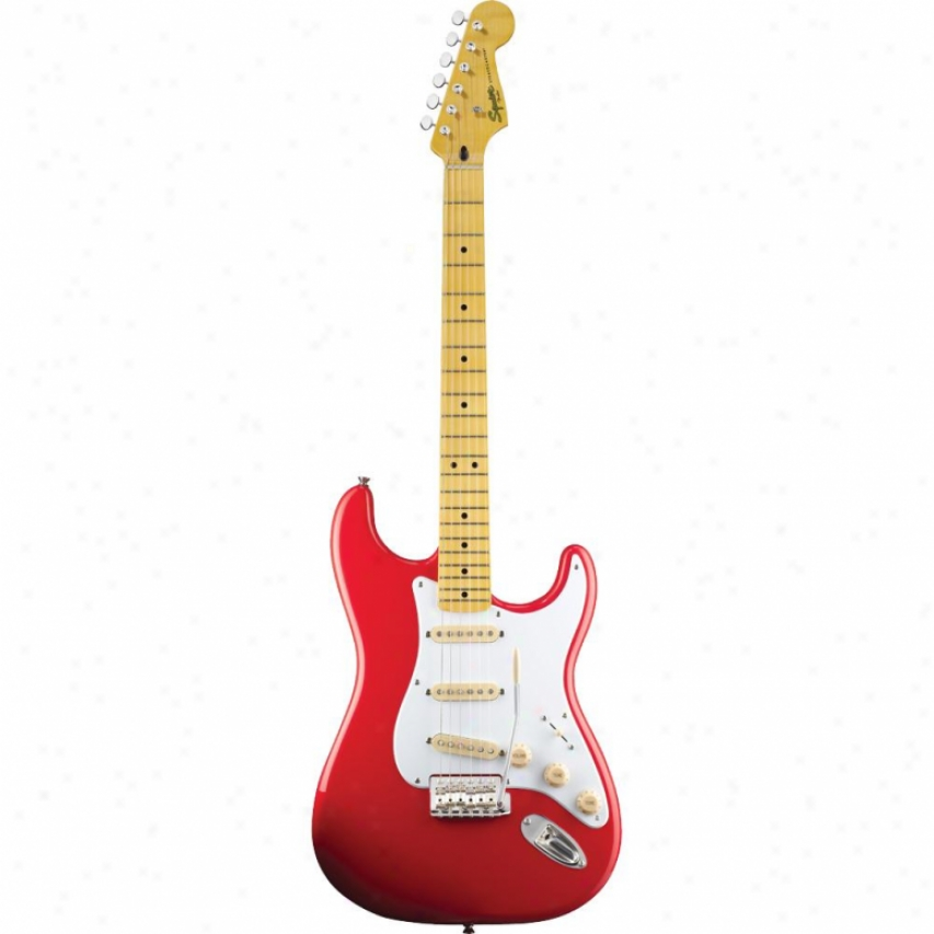 Squier Classic Vibe Stratocaster® ?50s Guitar - Fiesta Red Maple