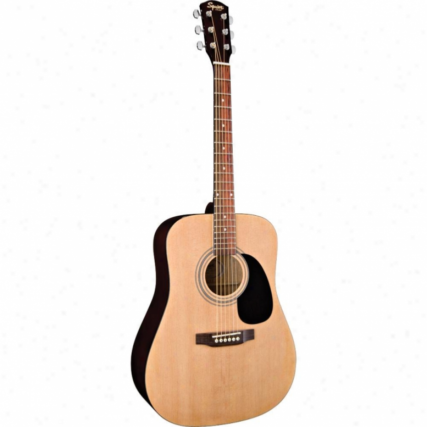 Squier Open Box Sa-100 Acoustic Guitar Complete Pack - Natural
