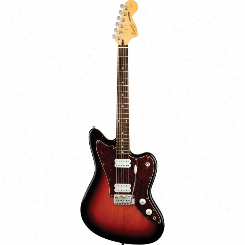 Squier Vintage Modified Series Jagmaster Guitar - 3-color Sunburst - 032-0700-50