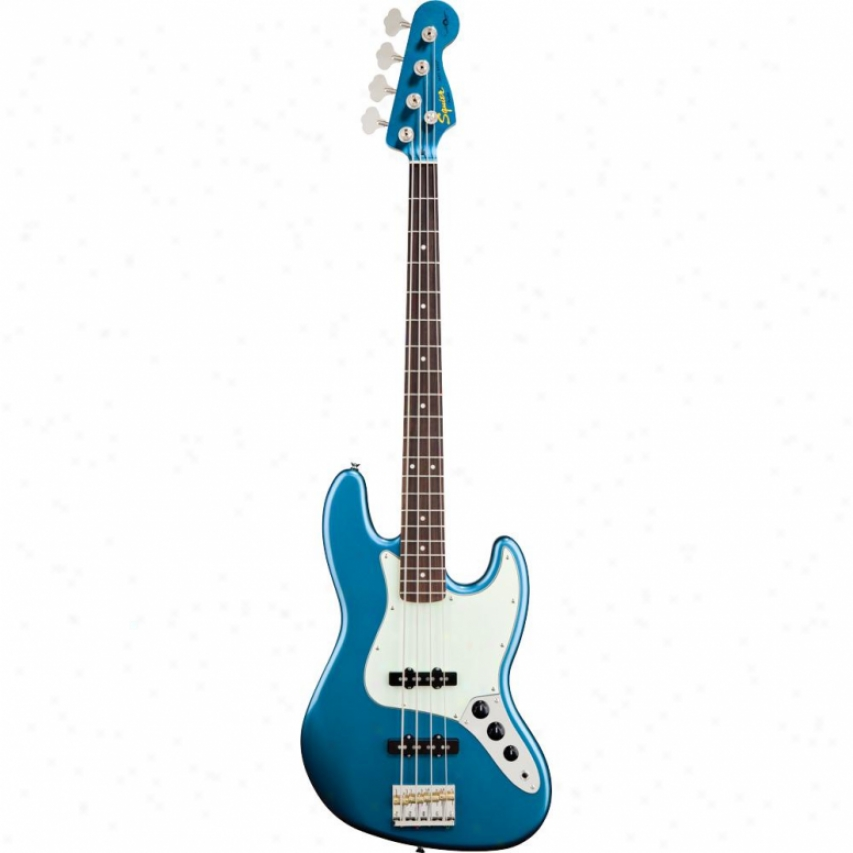 Squier® 030-1078-502 James Johnston Jazz Bass&reg ; - Lake Placid Blue