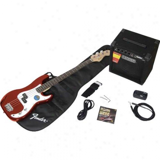 Squier&amp;reg; 030-1670-025 Precision Bass&amp;reg; With Amp