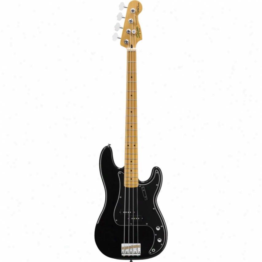 Squier® Matt Freeman Exactness Bass Guitar - Black Maple