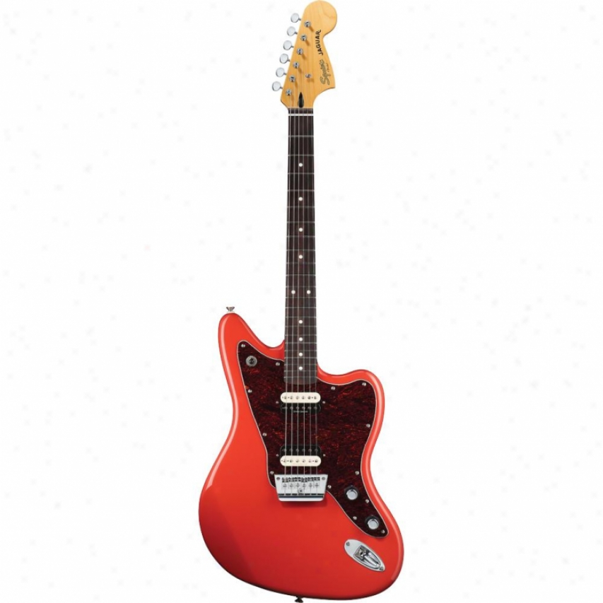 Squier® Vintage Modified Jaguar Hh Guitar - Fiesta Red Rosewood - 030-2700-5