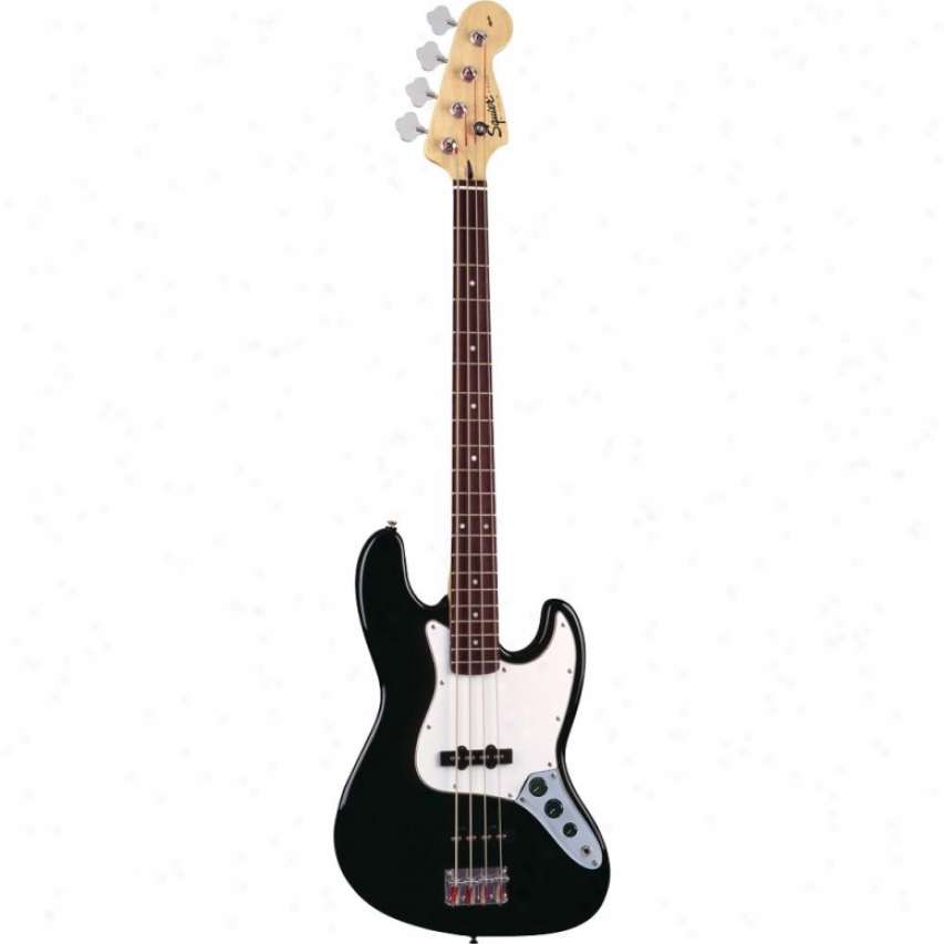 Squier(open Box® Affinity Succession Jazz Bass® Gujtar - Black - 031-0760-50