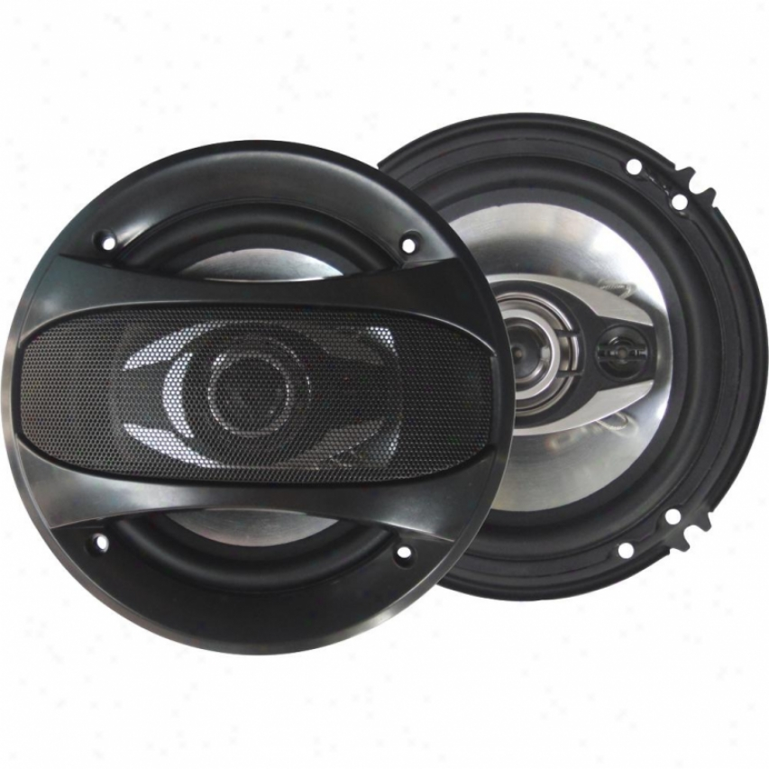 "Supersonic 6.5"" 3-way Coaxial Car Speakers Sc6500"