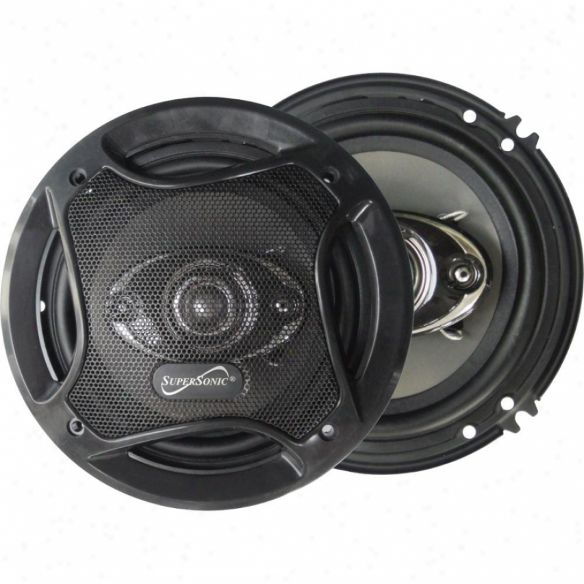 "Supersonic 6.5"" 4-way Coaxial Car Speakers Sc6502"