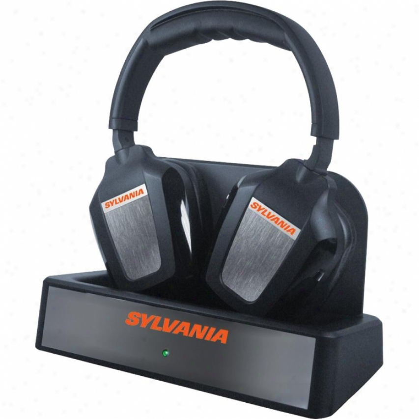 Sylvania Quiet Tv Wireless Stereo Headphones - Sly-wh950gb