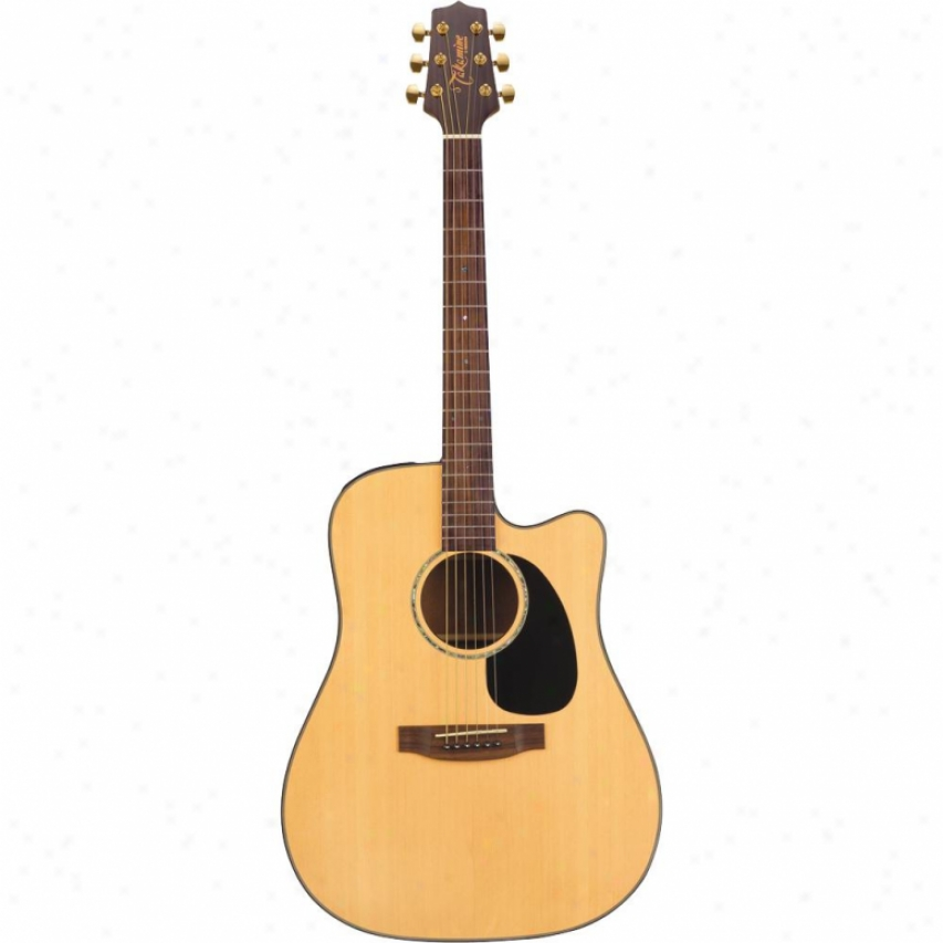 Takamine Dreadnought Cutaway Acoustic-electric - Gloss Natural - Eg340sc