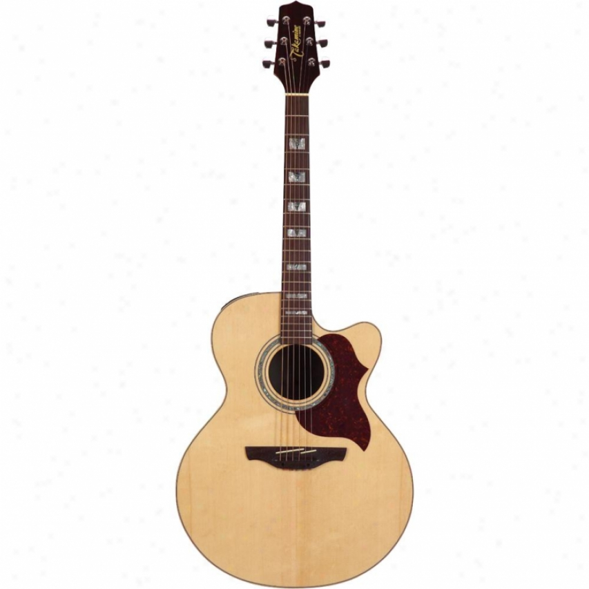 Takamine Jumbo Cutaway Acoustic-electric Guitar - Natural - Eg523sc