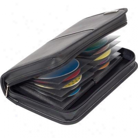 Targus Matrix 80 Capacity Cd-dvd Wallet Black Tdp002us