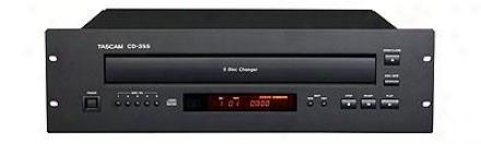 Tascam 3u Five-disc Cd Player