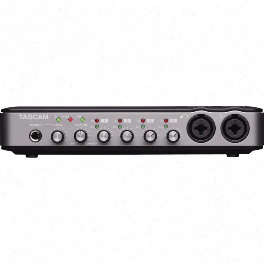 Tascam 6-in/4-out Usb 2.0 Audio/ Midi Interface Us600