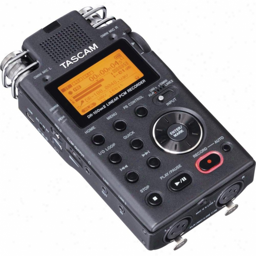 Tascam Dr-100mkii High-end Handheld Stereo Digital Recorder