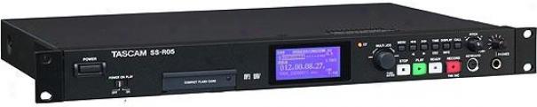 Tascam Ss-r05 Rackmount Compact Flash Registrar