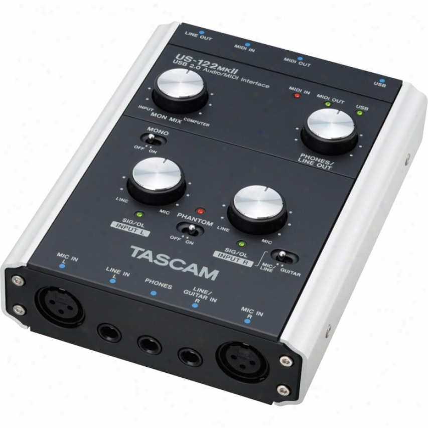 Tascam U-122mkii Usb Interface/controller